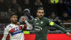 Loic Perrin Nabil Fekir Lyon Saint-Etienne Ligue 1 25022018