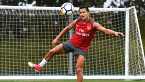 Alexis Sánchez Arsenal training 190817