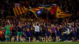 Festejo Barcelona Real Madrid El Clasico LaLiga 06052018