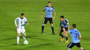 Lionel Messi Argentina Uruguay Eliminatorias Sudamericanas Fecha 15 31082017