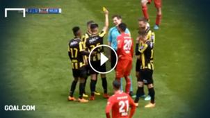 GFX Eredivisie Schwalbe gelbe Karte