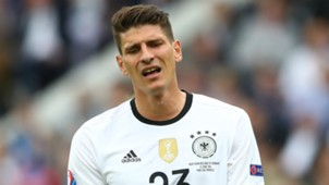Mario Gomez Germany Euro 2016