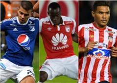 Colombianos en Sudamericana mix