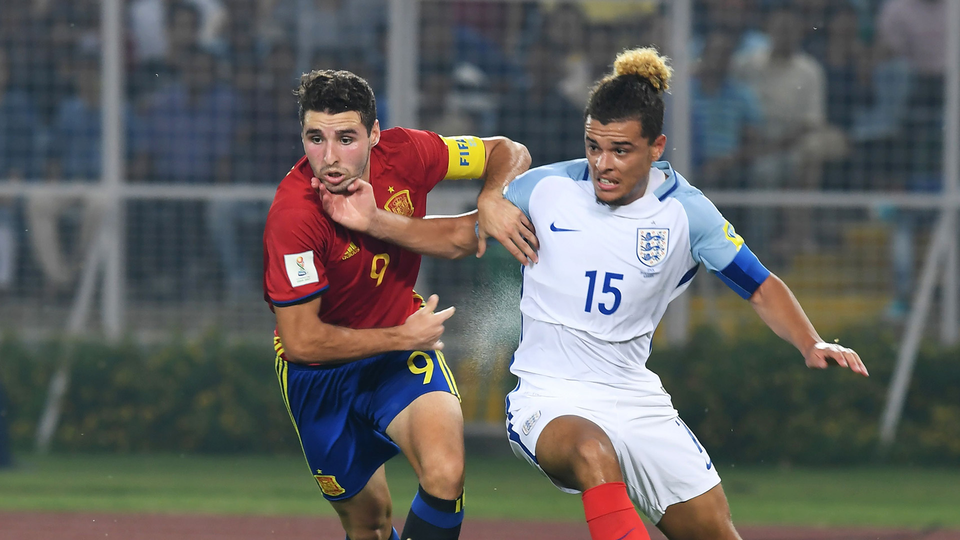England Spain Under-17 World Cup final