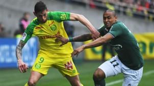 Emiliano Sala Gabriel Silva Nantes Saint-Etienne Ligue 1 01042018