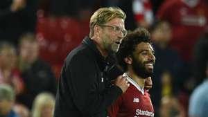 Jurgen Klopp Mohamed Salah Liverpool