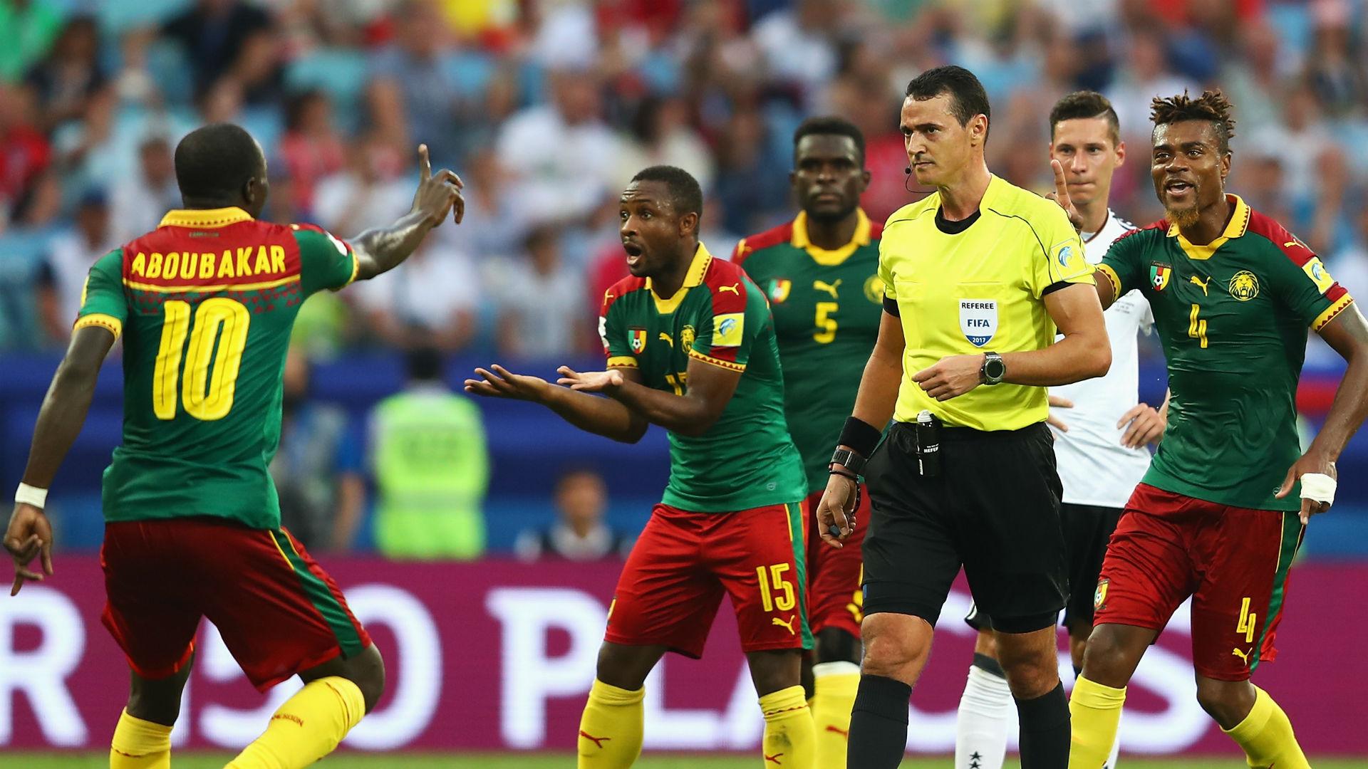 Cameroon Germany Wilmar Roldan Confederations Cup 2017