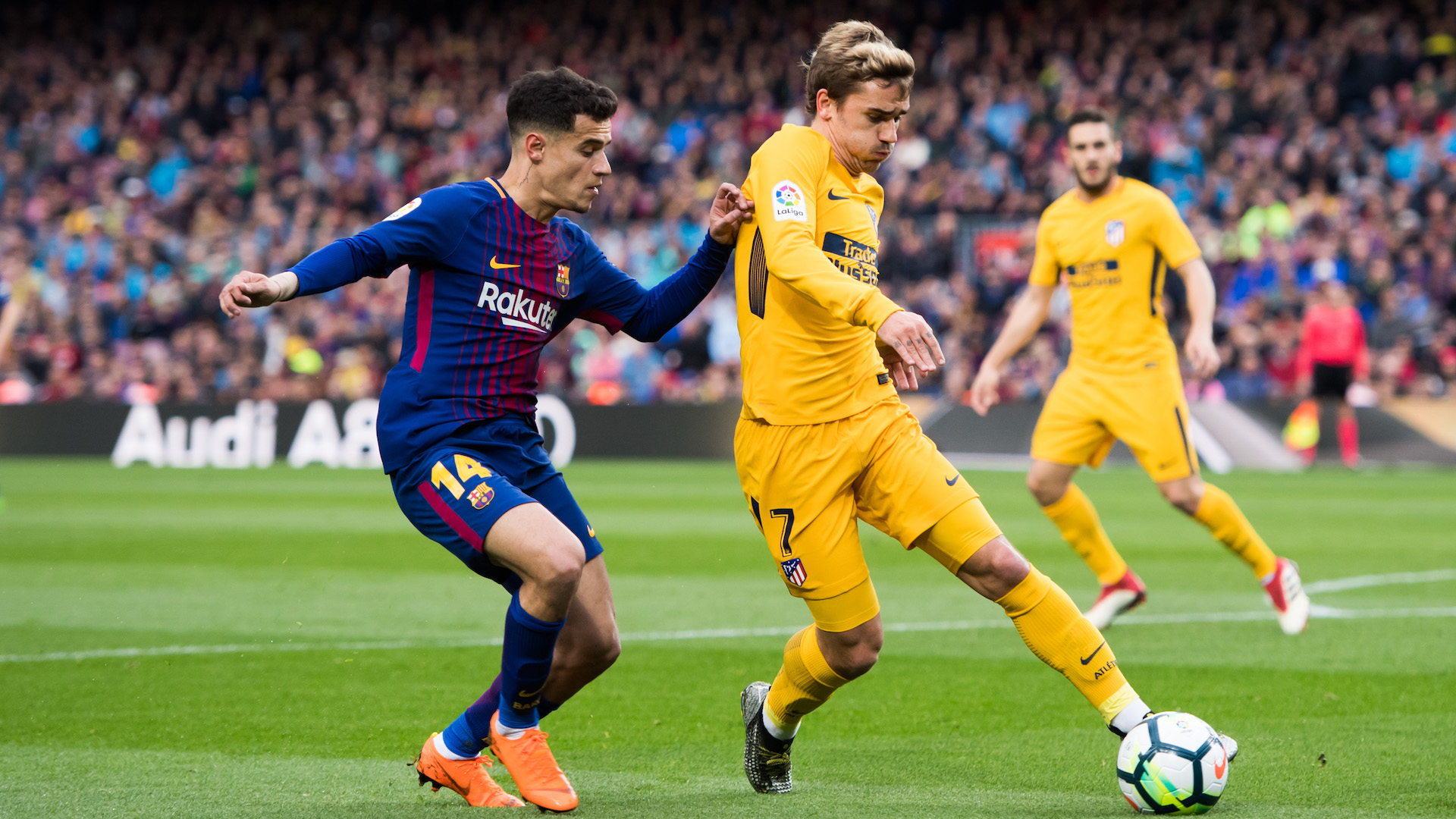 Coutinho Griezmann Barcelona Atletico LaLiga