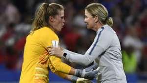 Jill Ellis  Alyssa Naeher USMNT USA Women's World Cup 2019