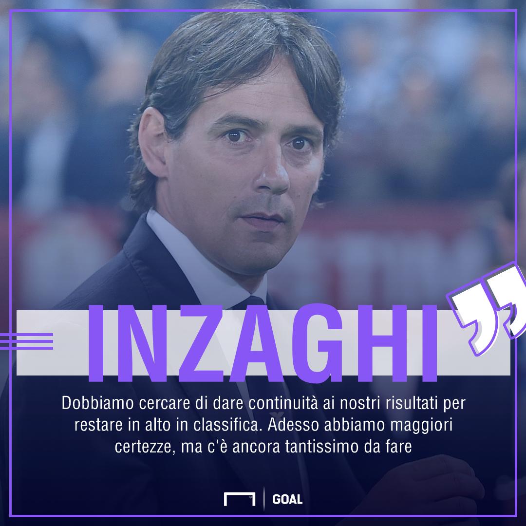 Inzaghi elogia la maturità della Lazio