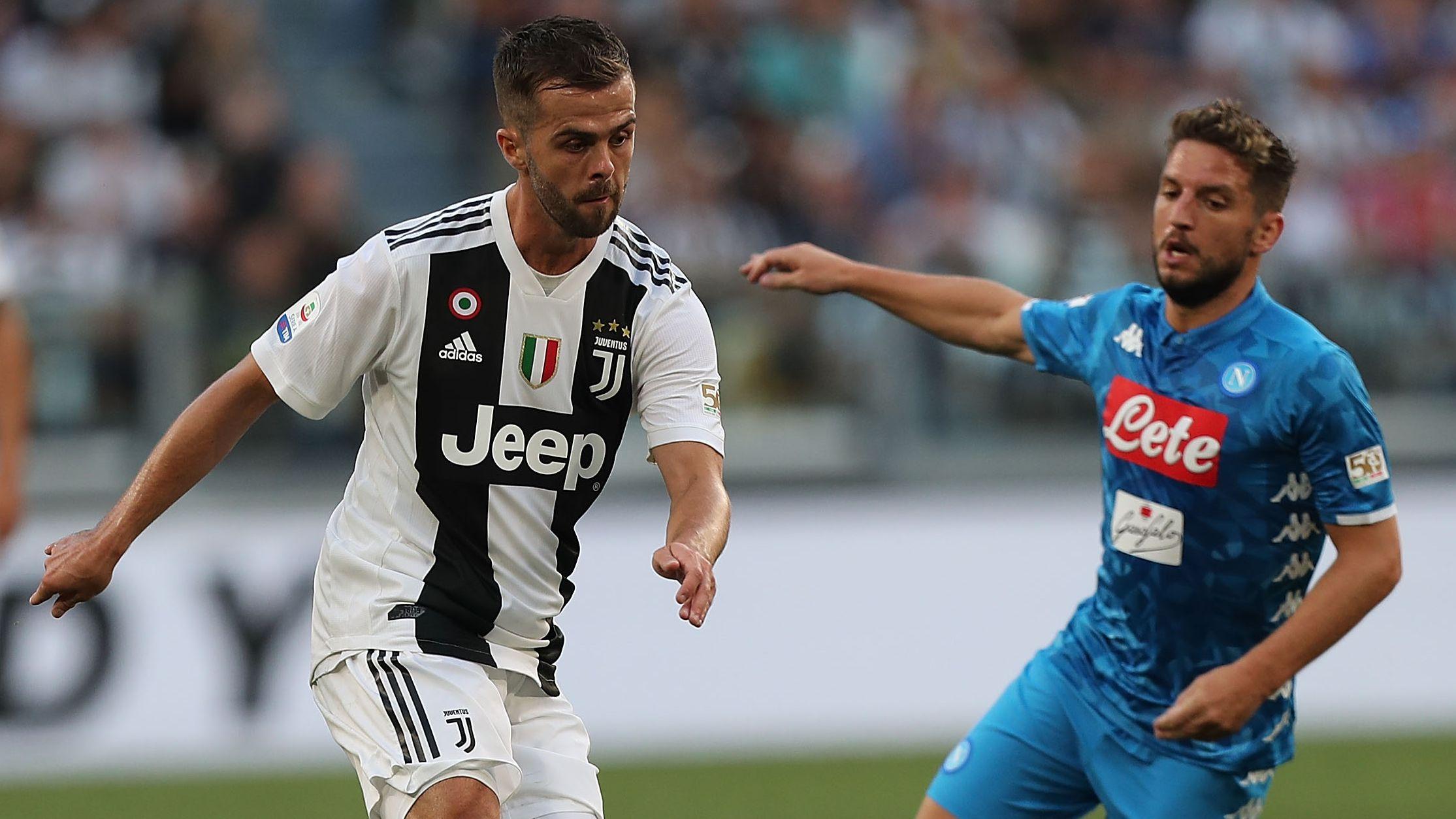 Pjanic Mertens Juventus Napoli