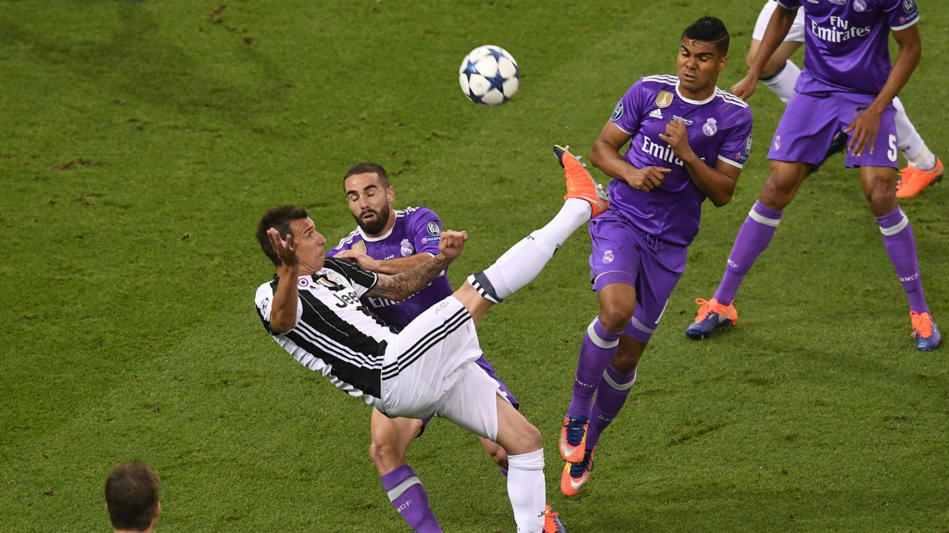 Mario Mandzukic Juventus Real Madrid Champions League