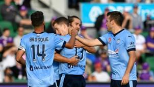 Brandon O'Neill Perth Glory v Sydney FC A-League 26032017