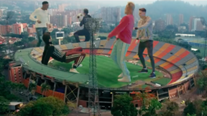 Yerry Mina y James videoclip