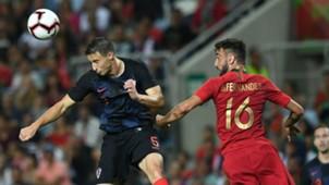 portugal croatia - matej mitrovic gelson fernandez - friendly - 06092018