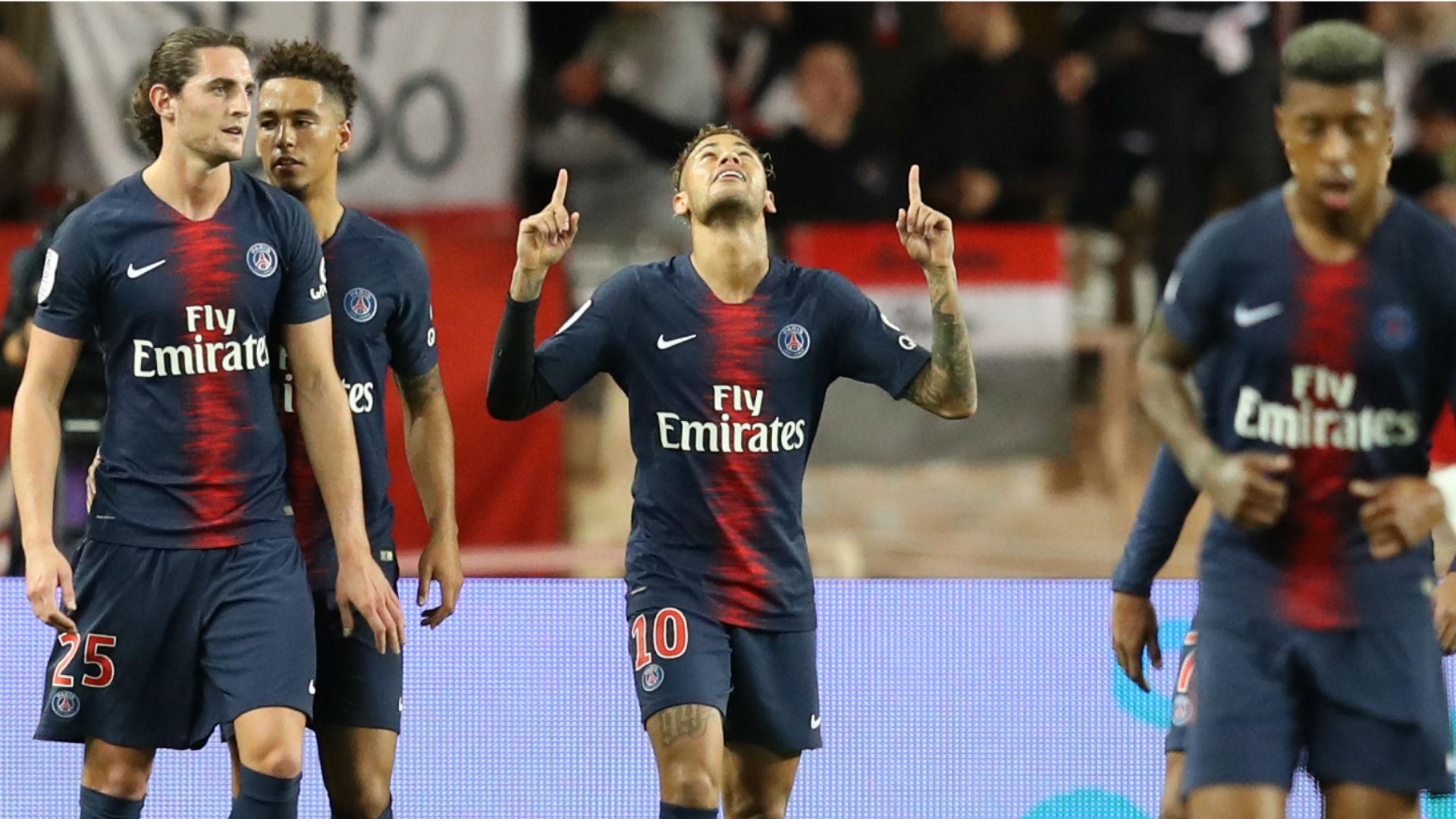 Neymar PSG Monaco