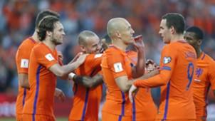 Stefan de Vrij, Arjen Robben, Nederland - Luxemburg, 09062017
