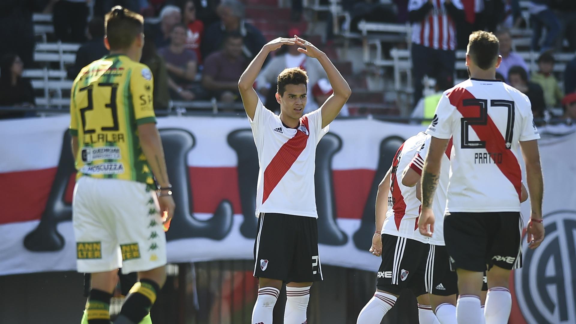 Cristian Ferreira River Plate Aldosivi Superliga 27102018