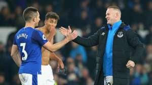 Leighton Baines Wayne Rooney Everton
