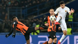 FRED SHAKTAR DONETSK DIEGO PEROTTI ROMA UEFA CHAMPIONS LEAGUE 21022018