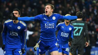 Jamie Vardy Leicester City Chelsea