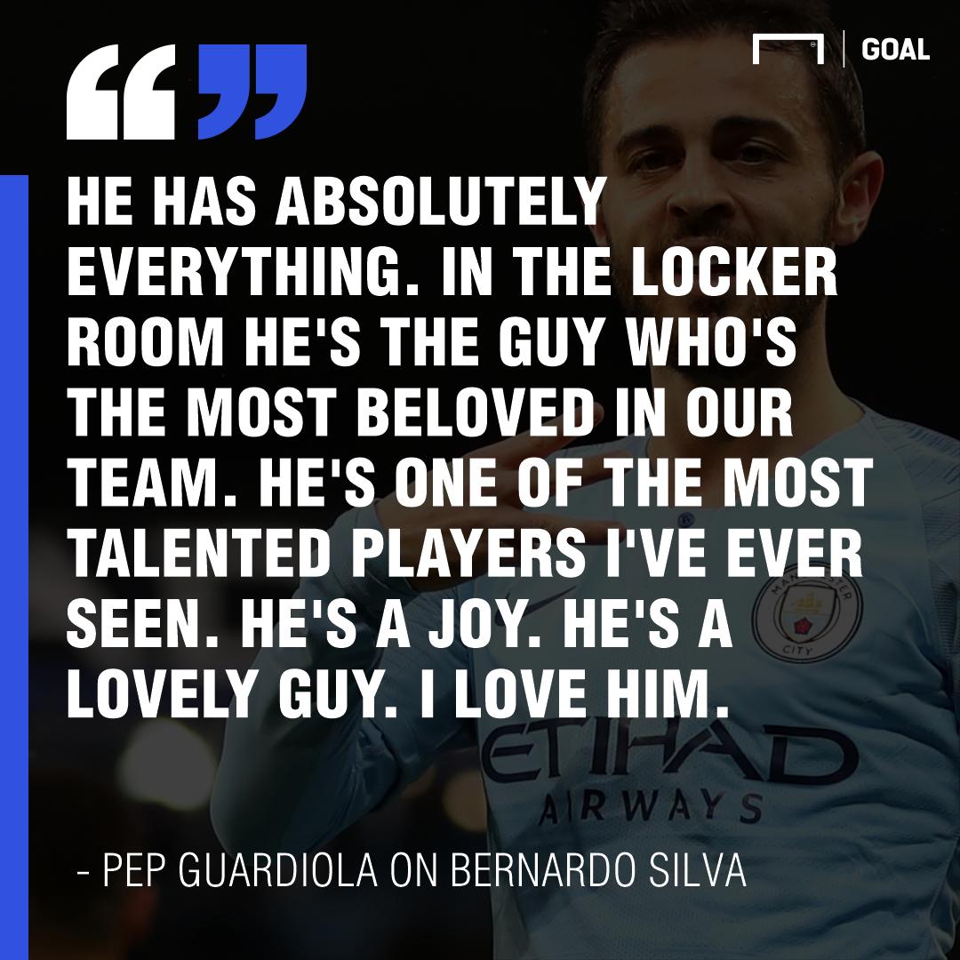 Pep quote Bernardo