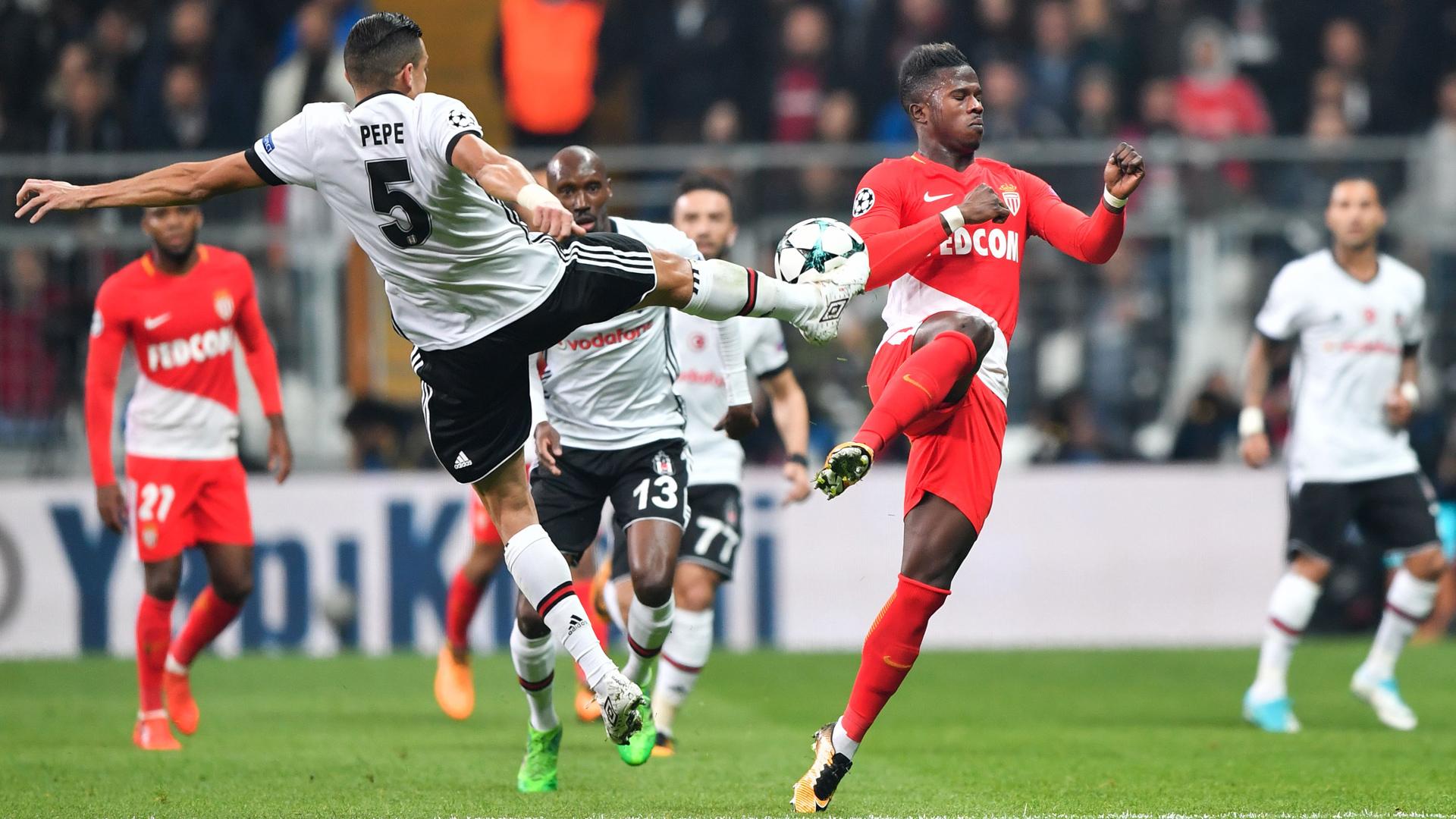 Besiktas Monaco Pepe Keita Balde Champions League 01112017