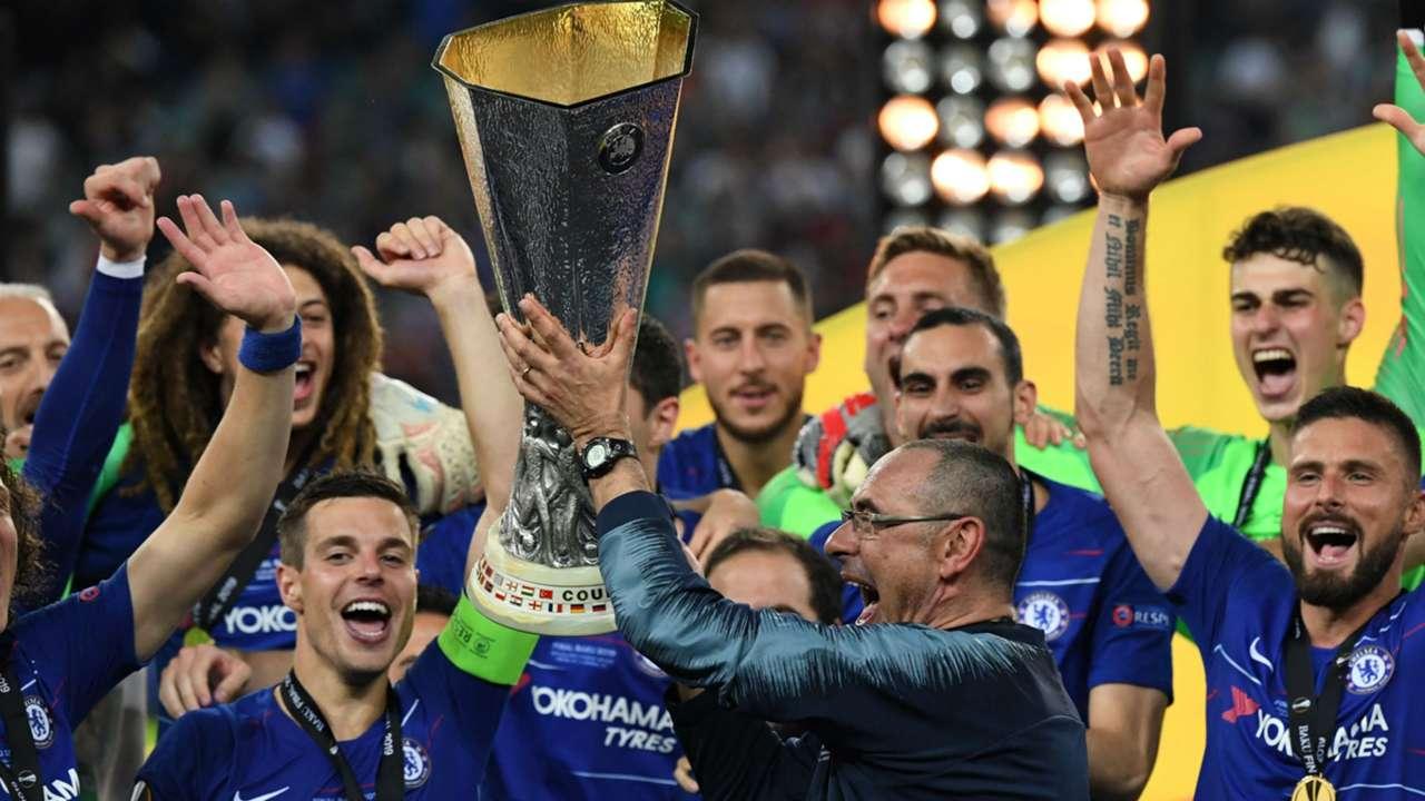 Sarri Chelsea Arsenal Europa League