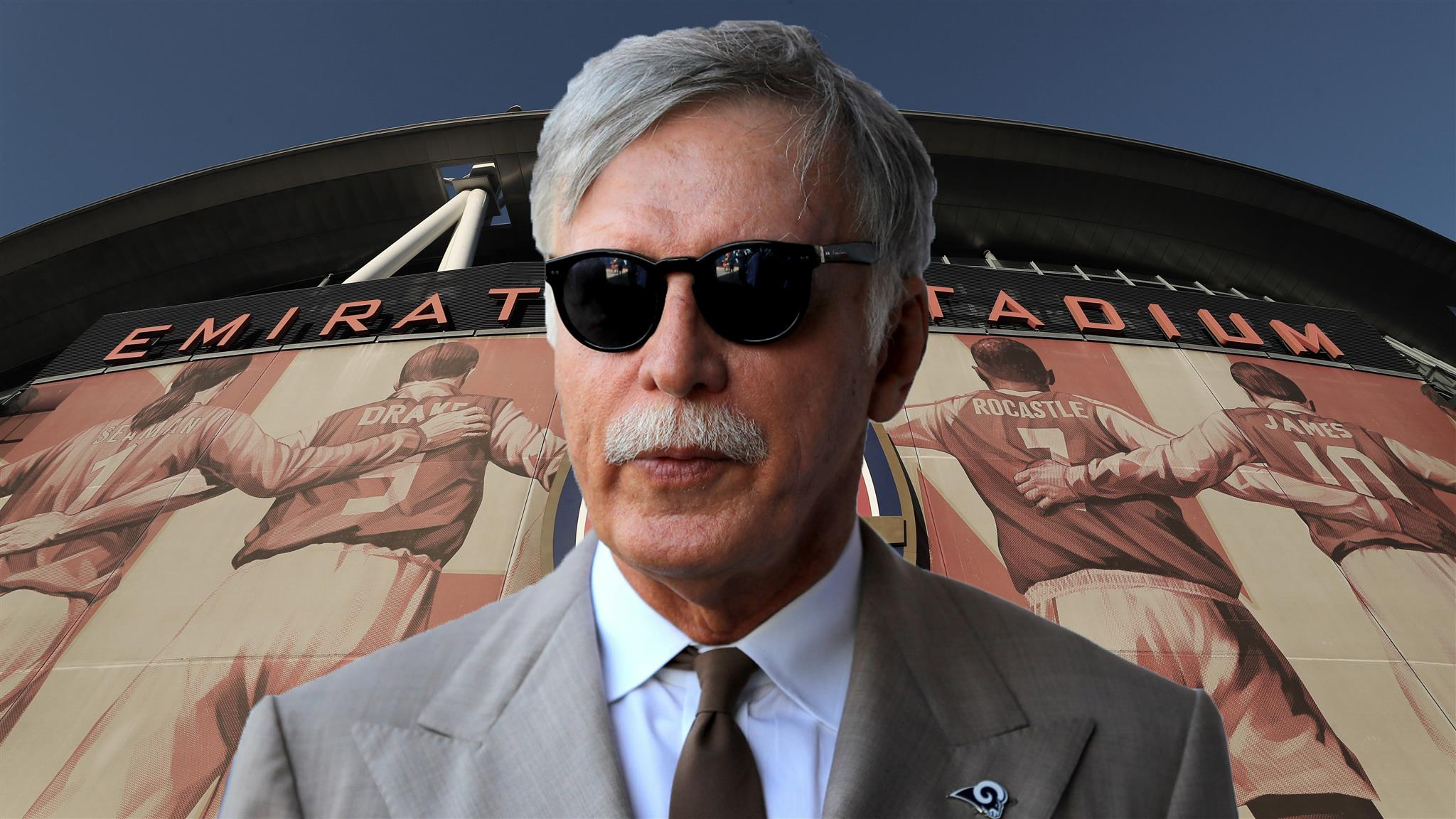 Kroenke makes £1.8bn offer to buy Arsenal