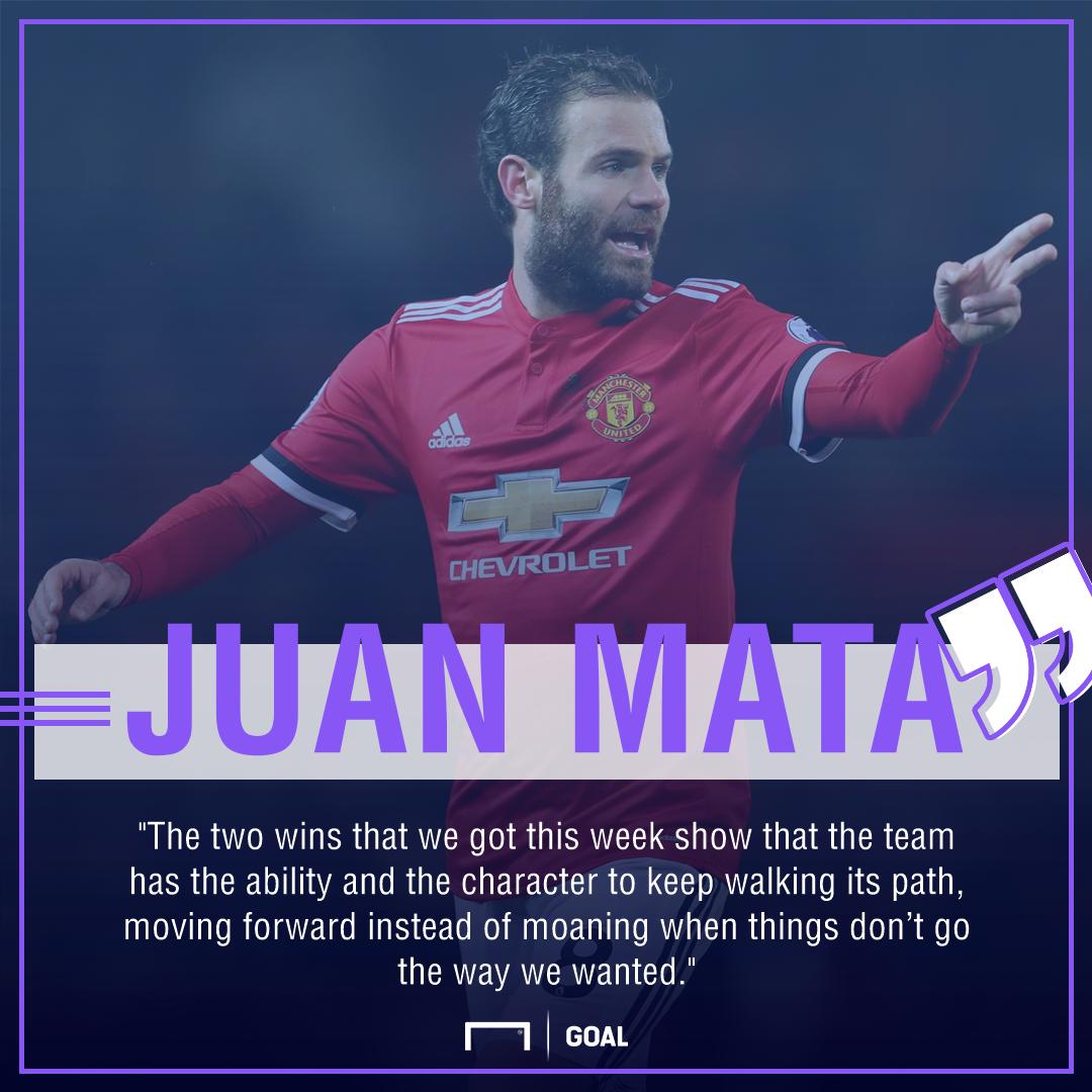 Juan Mata Manchester United not moaning