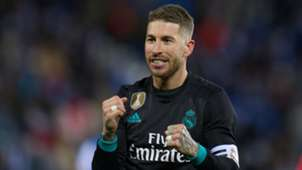 Sergio Ramos Real Madrid 2018-02-21