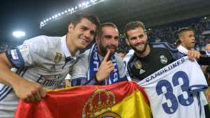 Alvaro Morata, Dani Carvajal, Real Madrid