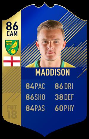 FIFA 18 EFL Team of the Season Maddison