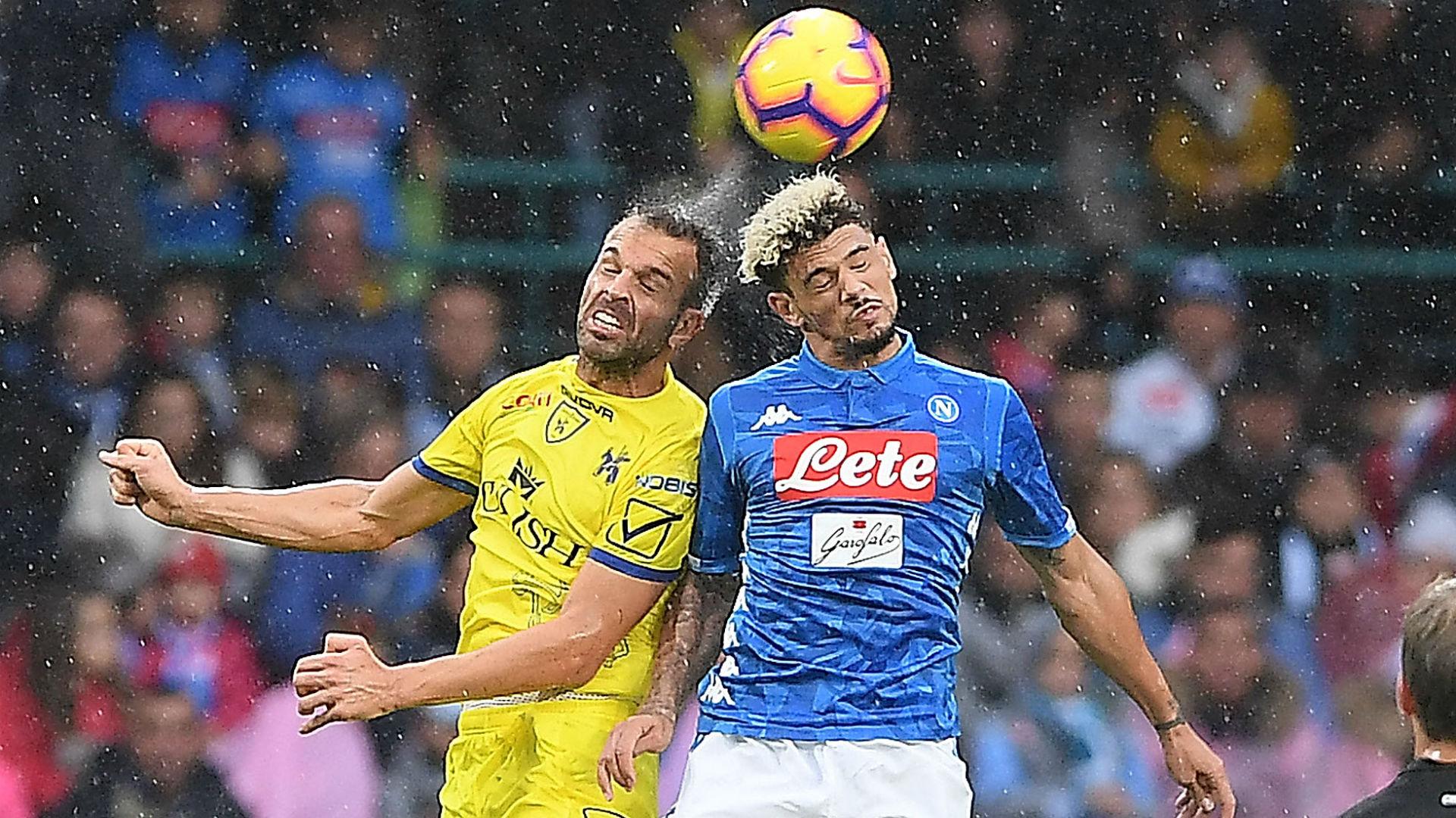 Malcuit Meggiorini Napoli Chievo Serie A