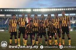 Malaysia U18, AFF U-18 Youth Championship, 08092017