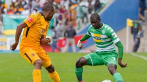 Bernard Parker of Kaizer Chiefs against Bloemfontein Celtic