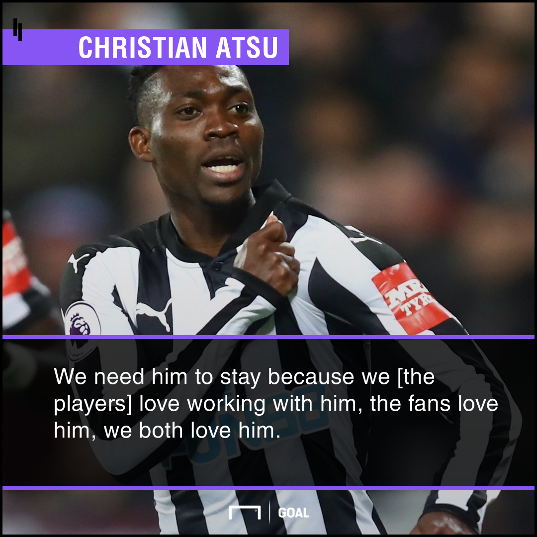 Christian Atsu ps