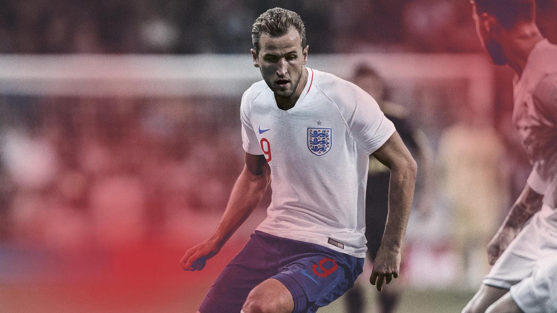 Inglaterra Camiseta Titular England Home Kit 2018