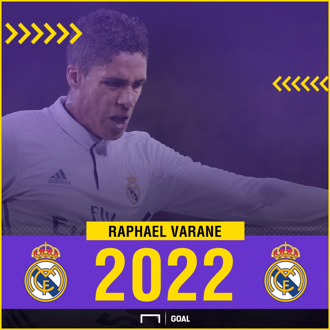 GFX - Raphael Varane, Real Madrid, 2022