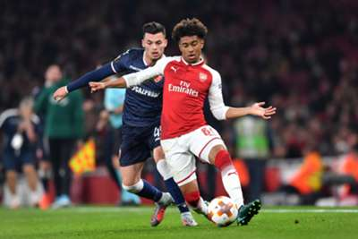 Reiss Nelson vs Red Star 03-11-17