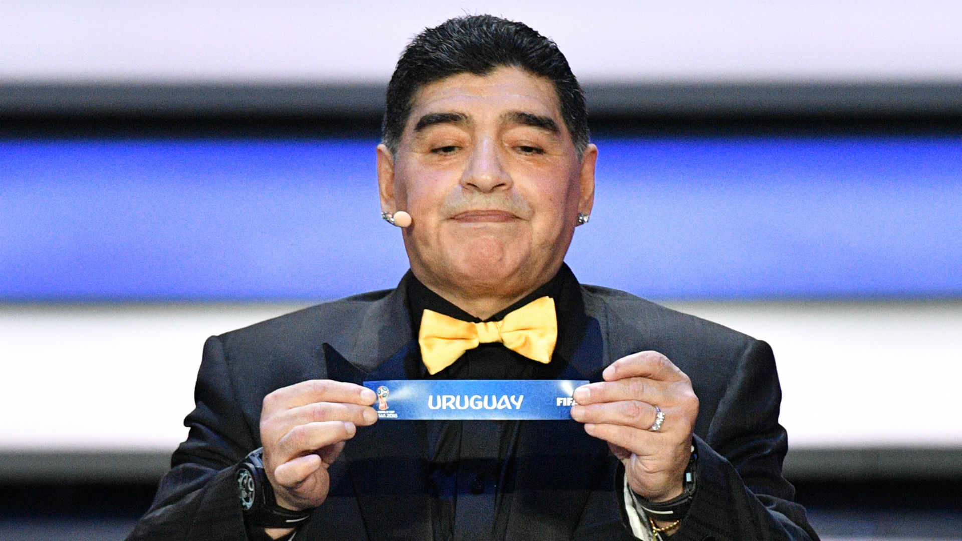 Diego Maradona World Cup 2018 draw