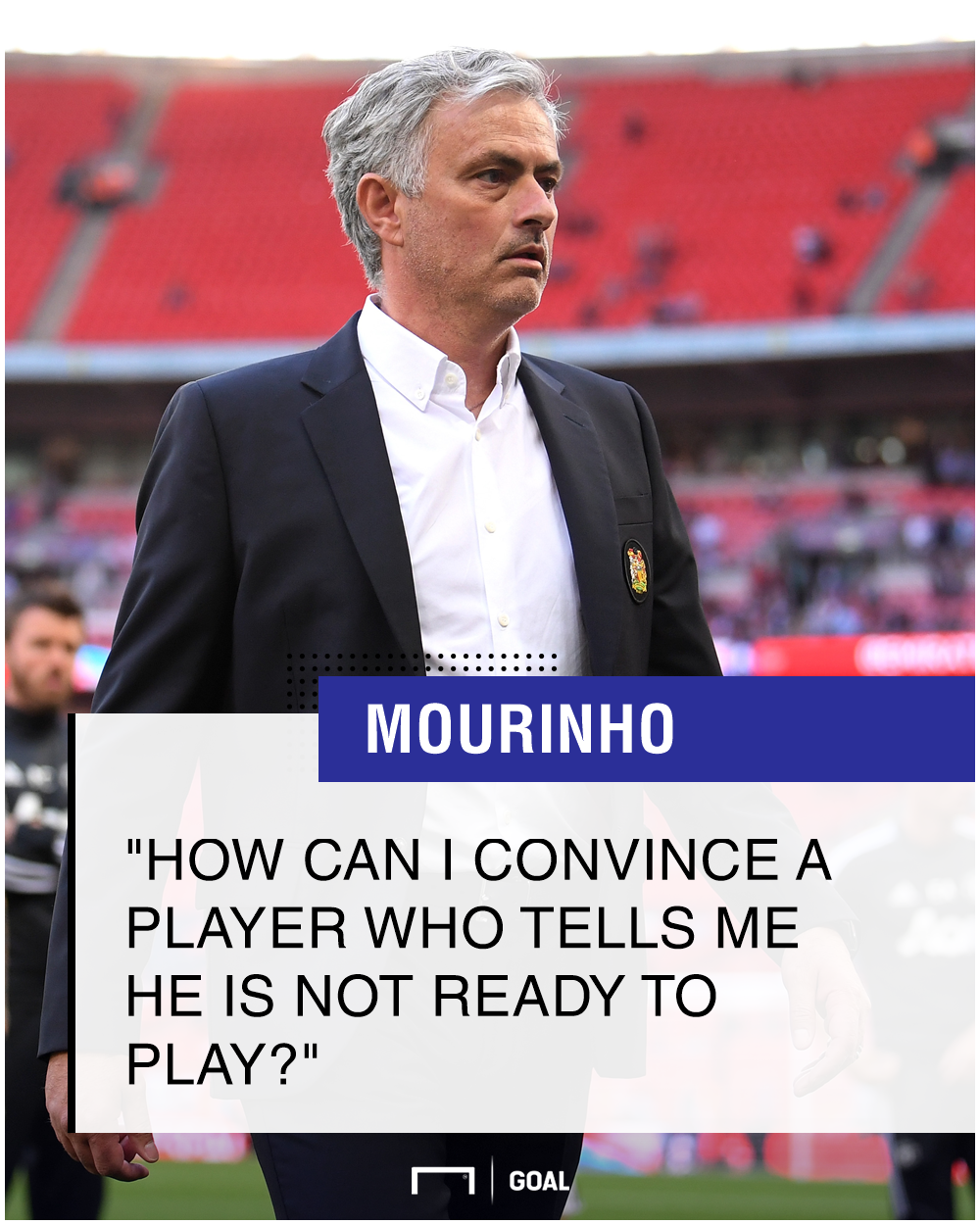 Jose Mourinho quote Manchester United