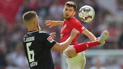 1. FSV Mainz 05 FC Augsburg Aaron martin Gouweleeuw 15092018