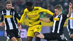 Michy Batshuayi Borussia Dortmund Mattias Ginter Christoph Kramer Borussia Monchengladbach
