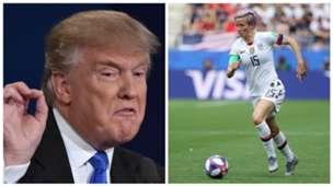 Donalld Trump Megan Rapinoe