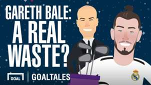 Gareth Bale: A Real waste (cartoon)