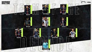 Ligue 1 Team of the Decade
