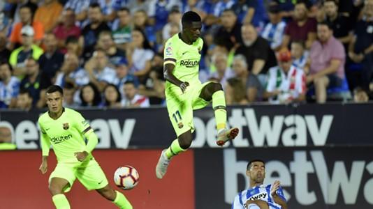 Ousmane Dembele Leganes Barcelona LaLiga 26092018
