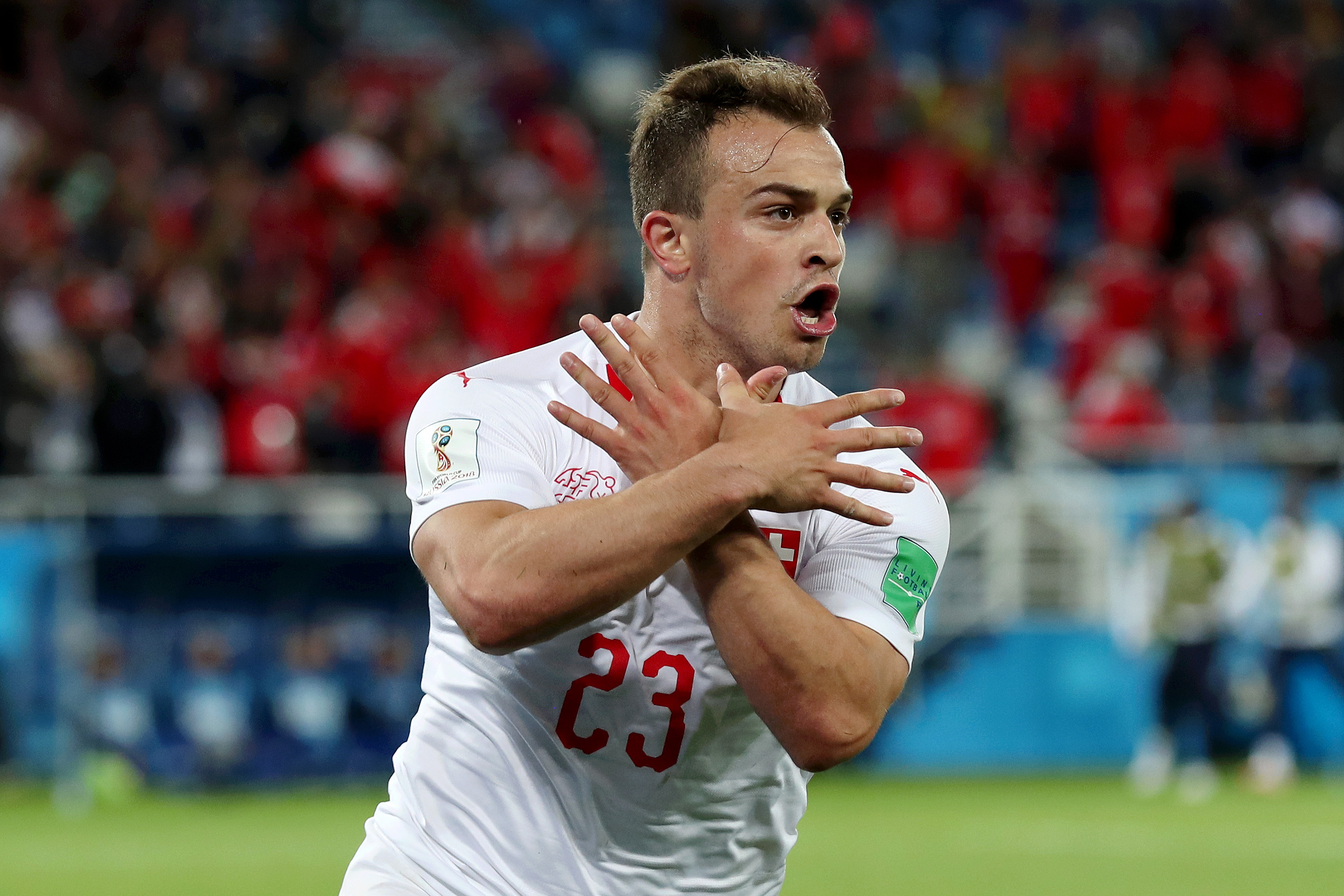 Manager rebukes Swiss players' nationalist gesture during Serbia game