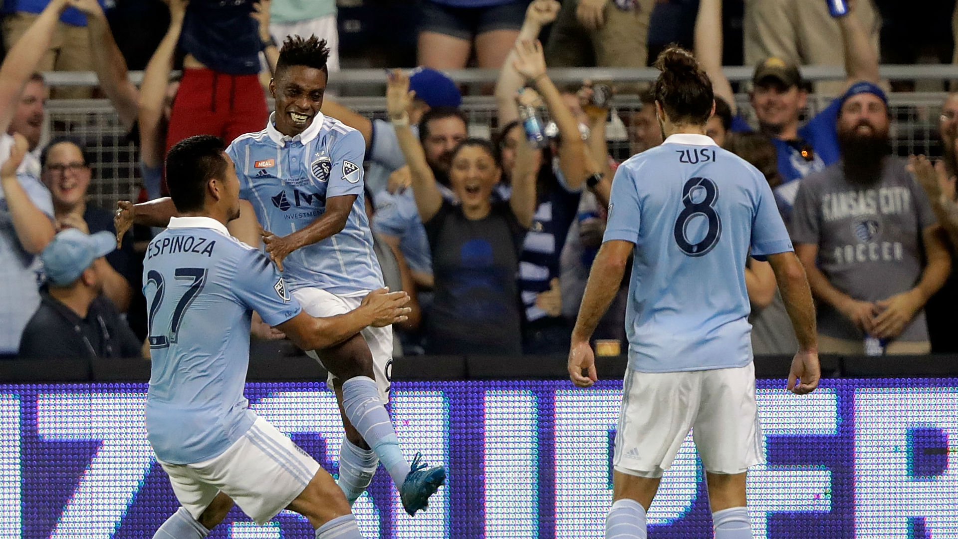 Latif Blessing Sporting Kansas City U.S. Open Cup